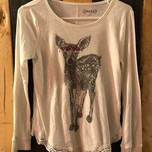 Girls size 16 mudd shirt